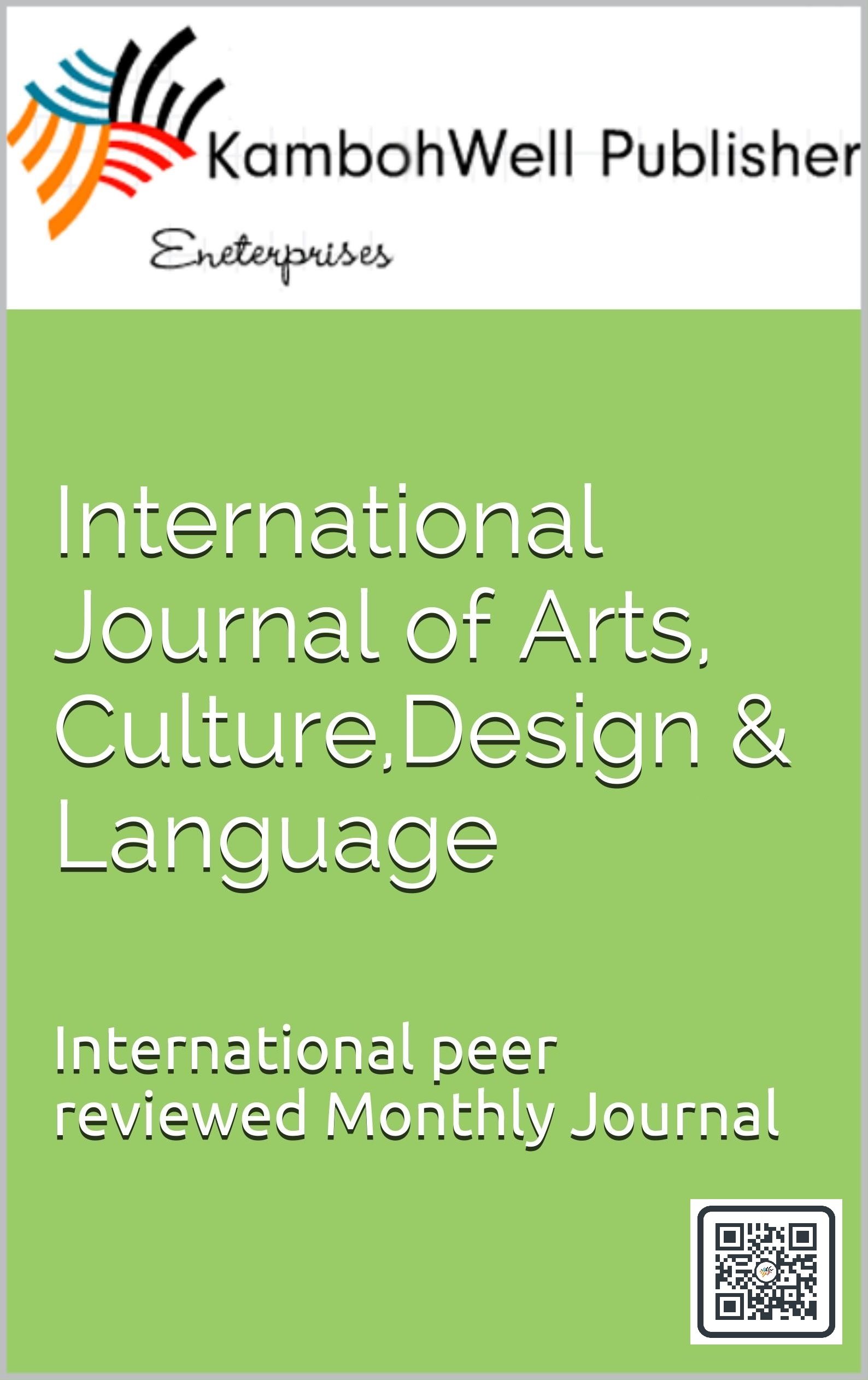International Journal of Art, Culture, Design and Language Works