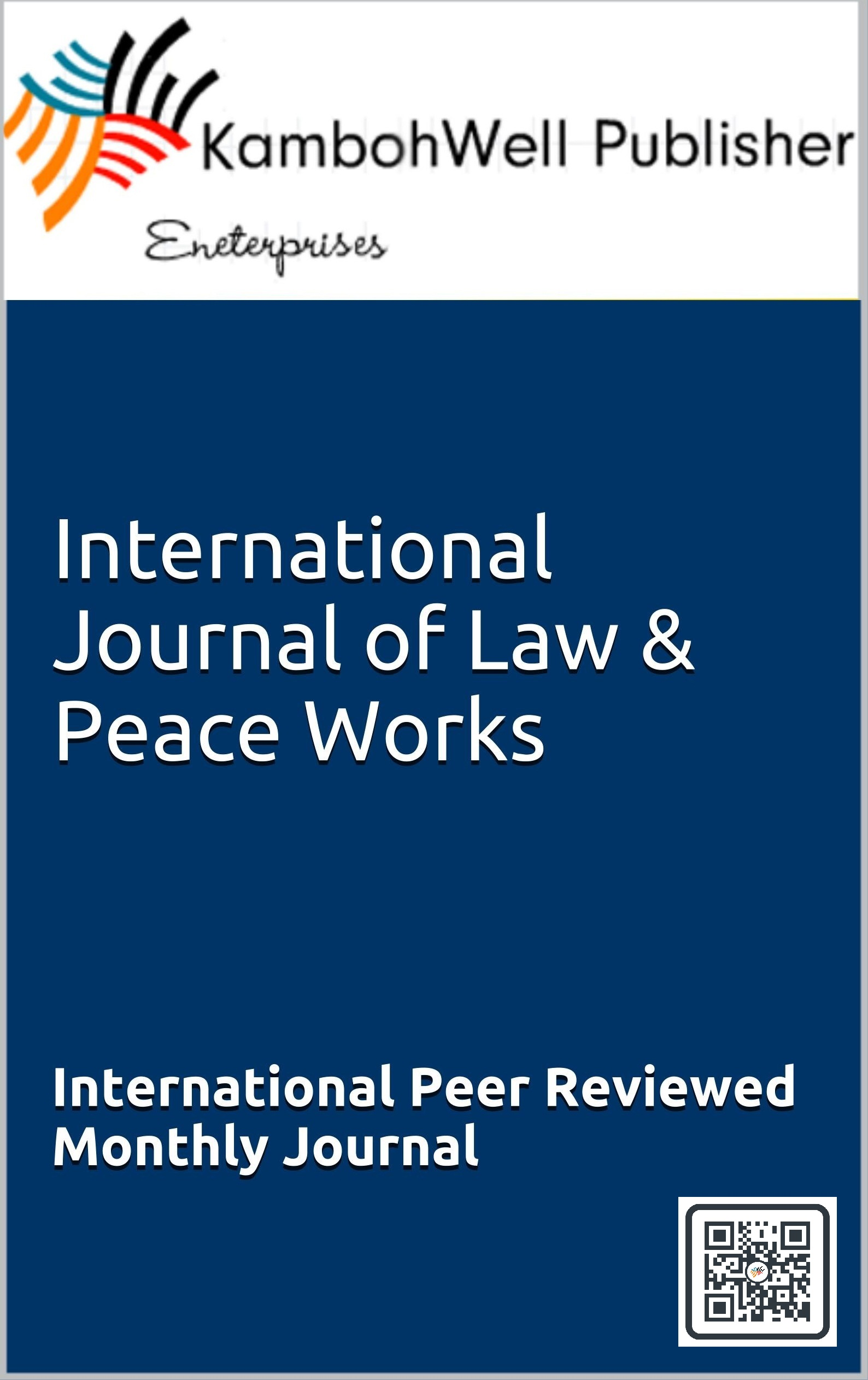 International Journal of Law and Peace Works